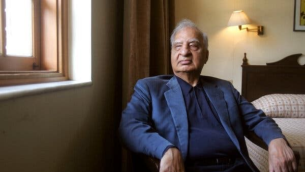 Ved Mehta, the 'writer' who was blind'