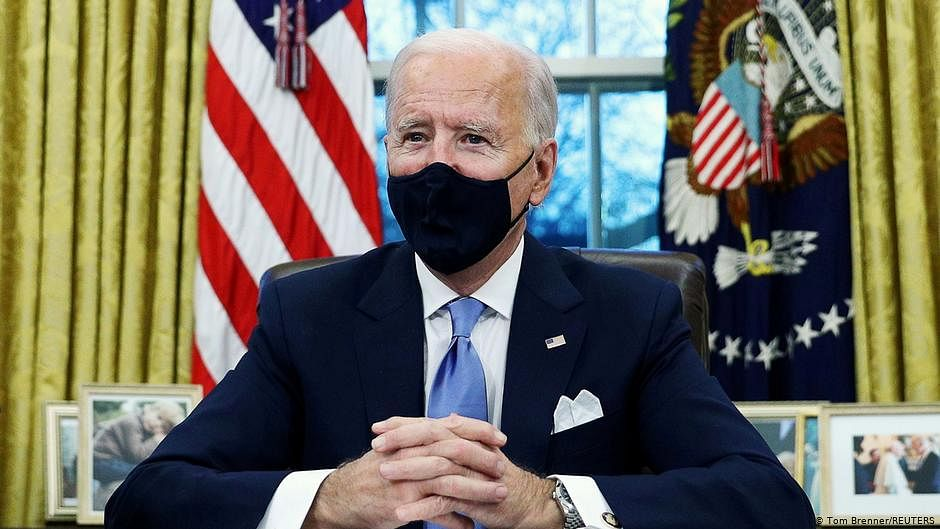 Biden flexible on who gets aid, tells lawmakers to 'go big'