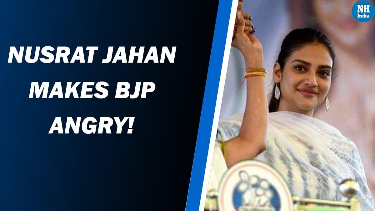 'BJP More Dangerous Than Coronavirus': TMC MP Nusrat Jahan