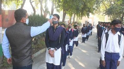 Gurugram schools reopen for classes 6 to 8
