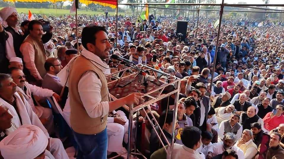 Aligarh farmers' meeting: RLD leader Jayant Chaudhry, 5000 others booked