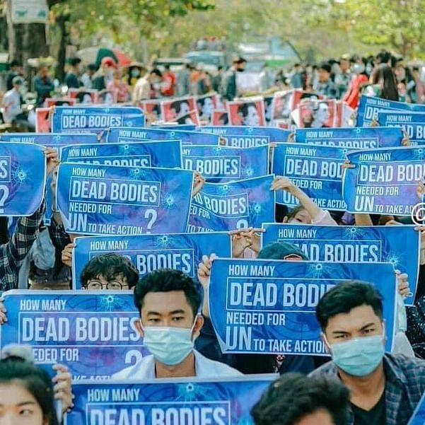 LIVE News Updates: UN rights office condemns violent crackdown against protests in Myanmar