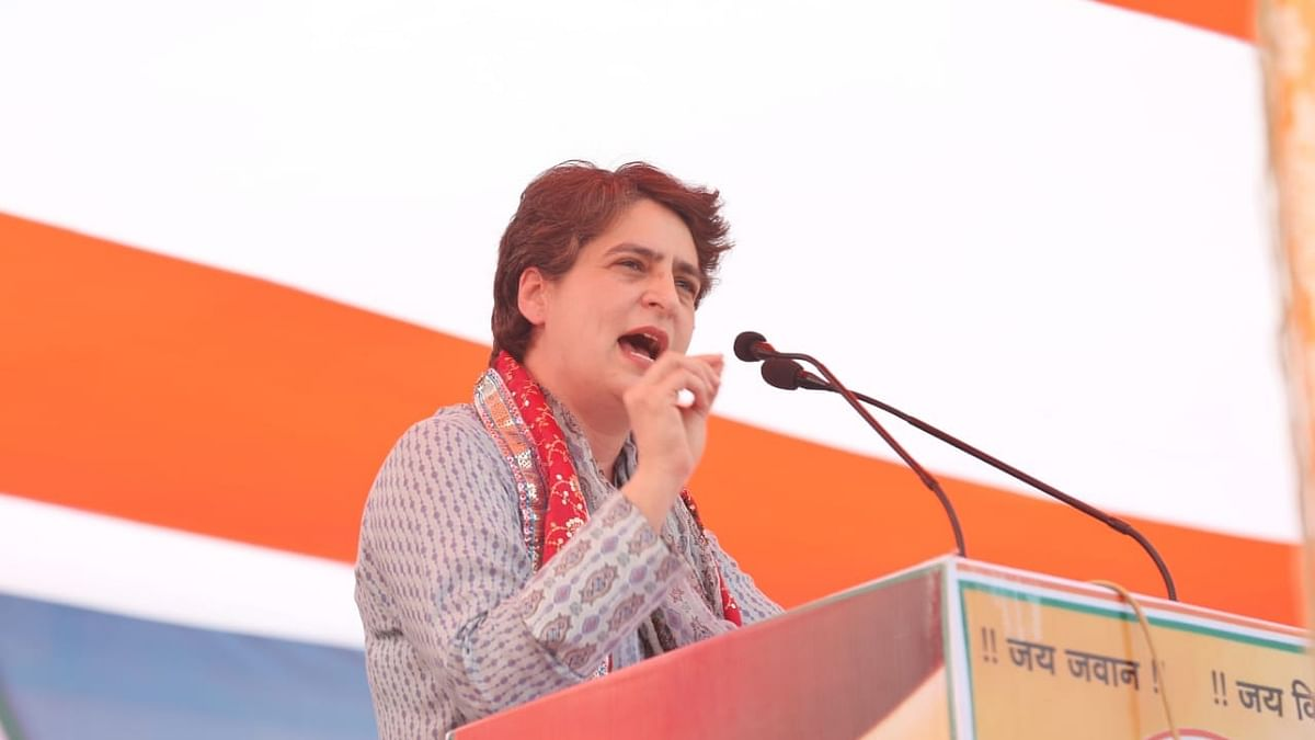 BJP govt doesn't have even 2 minutes to pay tribute to martyred farmers: Priyanka Gandhi in Mathura