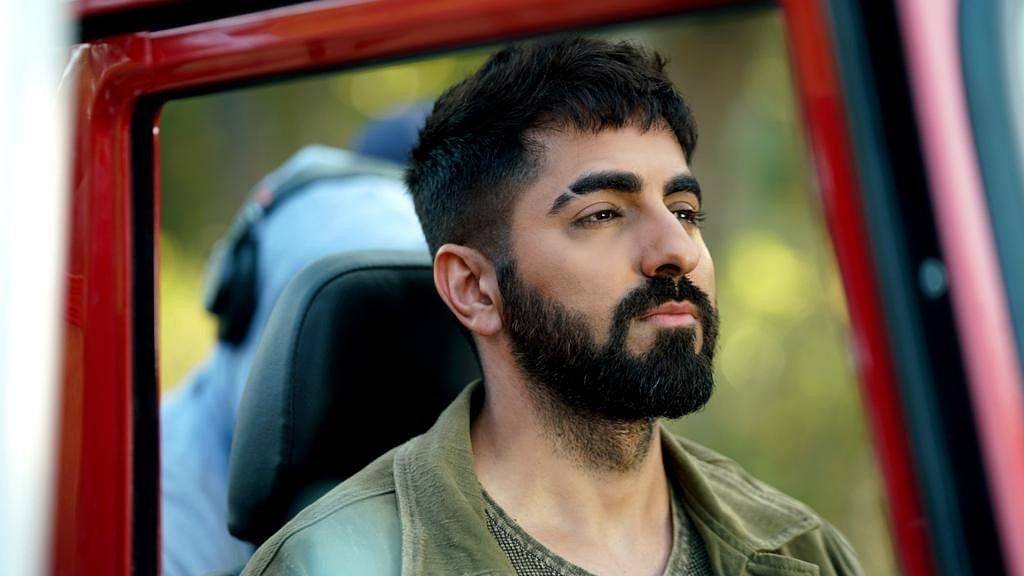 'It was about creating a distinct look!' : Ayushmann Khurrana about  sporting an eyebrow slit in 'Anek'