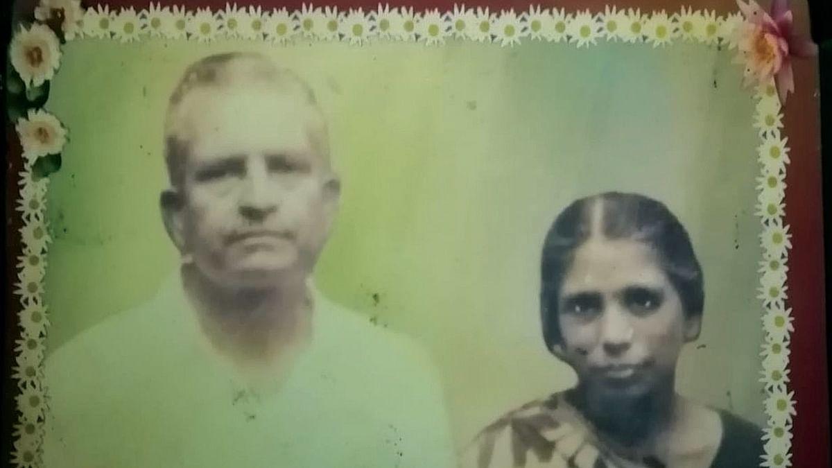 Kanhaiya Lal Shrivastav and wife Ahilya