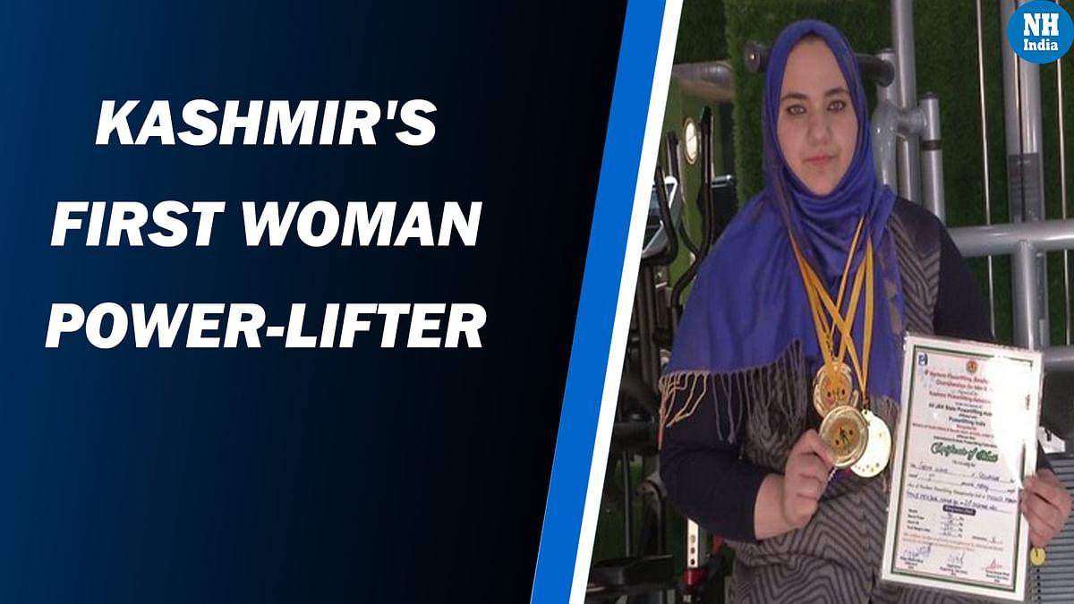 Meet Saima Ubaid, Kashmir's first woman power-lifter