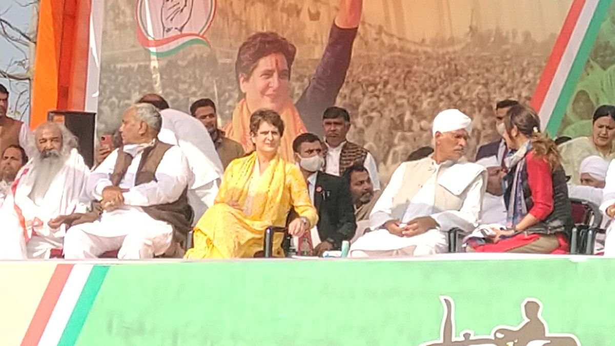 Priyanka Gandhi bowls over Jats and farmers in Muzaffarnagar