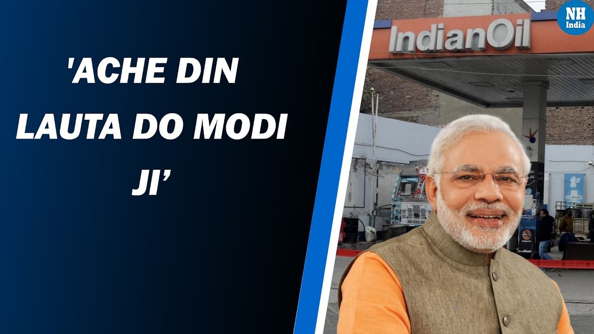 'Achhe din lauta do': Opposition attacks Modi govt over rising petrol, LPG prices