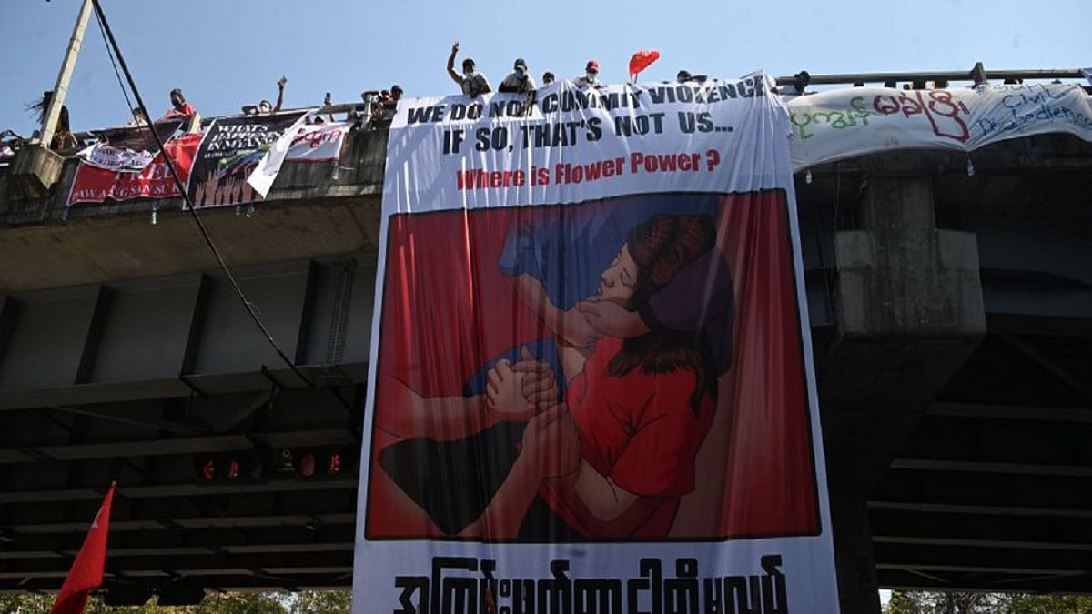 Myanmar Diary: Woman protestor shot in the head, dies; military crackdown continues