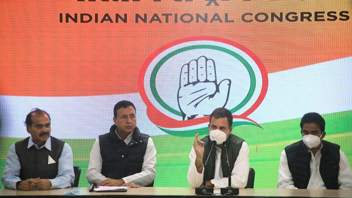 PM must explain why he has surrendered territory to China: Rahul Gandhi