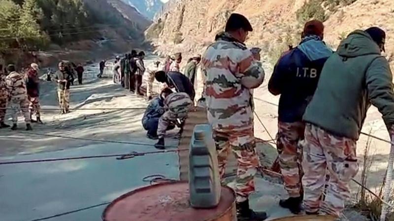 Uttarakhand glacier burst: 16 labourers rescued, 125 missing