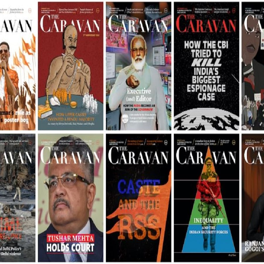 'The Caravan' wins Louis M Lyons Award for Conscience and Integrity in Journalism