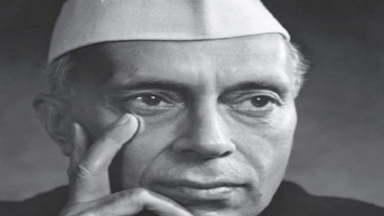 India's first Prime Minister Jawaharlal Nehru