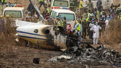 Air force plane crash kills 6 in Mexico's Veracruz state