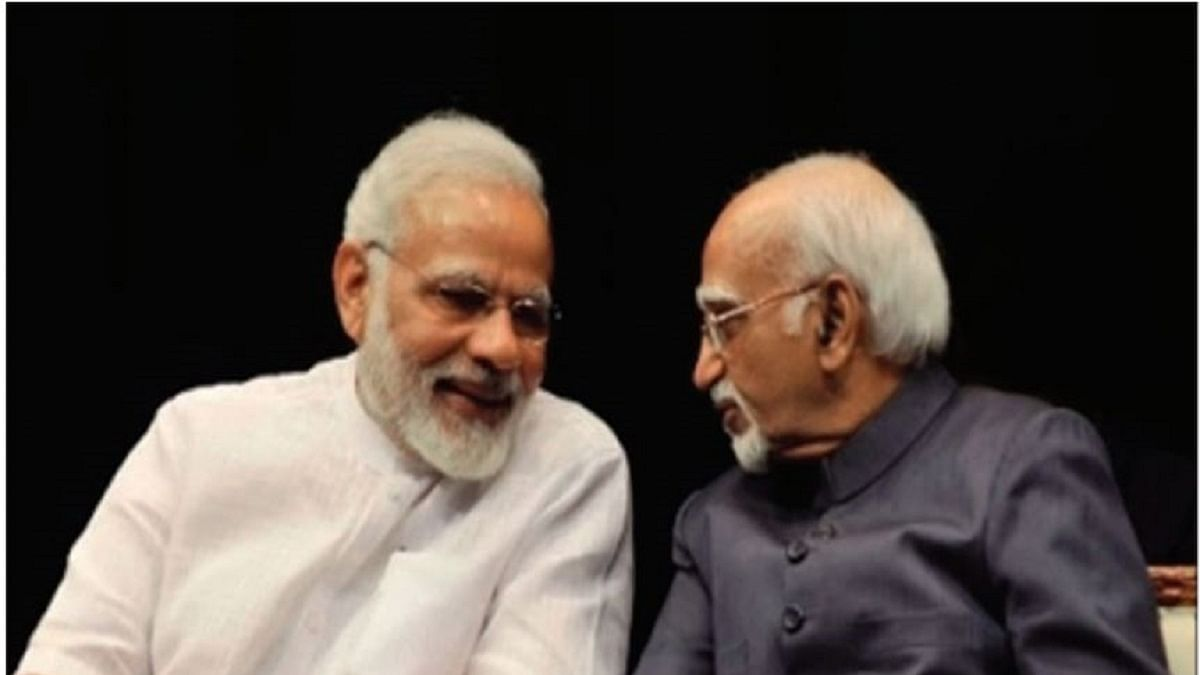 Former Vice-President Hamid Ansari recalls memorable encounters with PM Modi