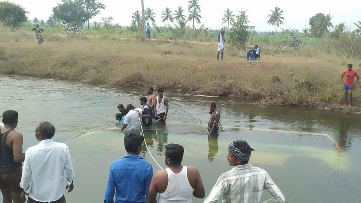 Madhya Pradesh: Bus falls into canal, several passengers missing; rescue on