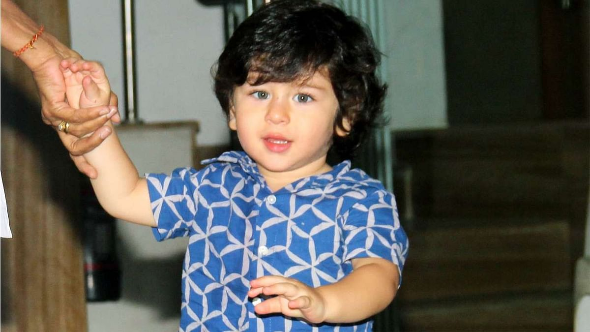 It's a baby brother for Taimur!