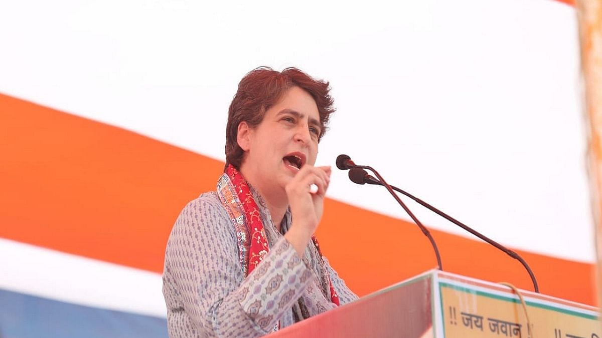 Priyanka Gandhi demands that Lakhimpur Kheri panchayat polls be held again