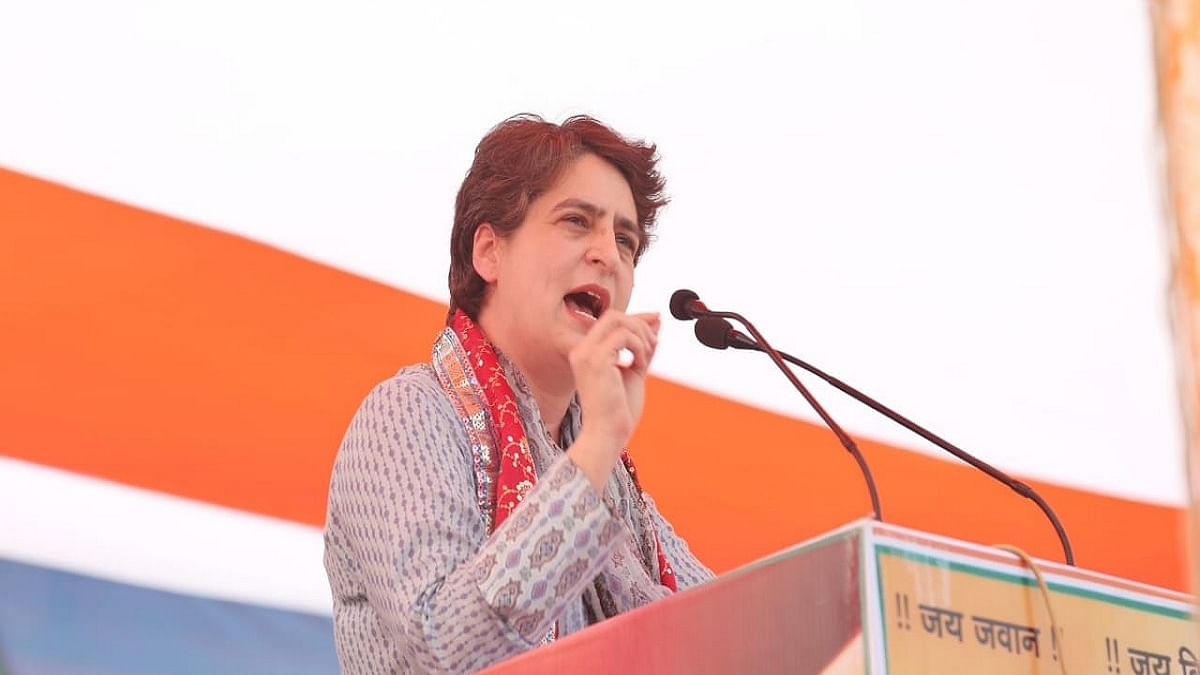 Congress general secretary Priyanka Gandhi (File Photo, Courtesy: IANS)