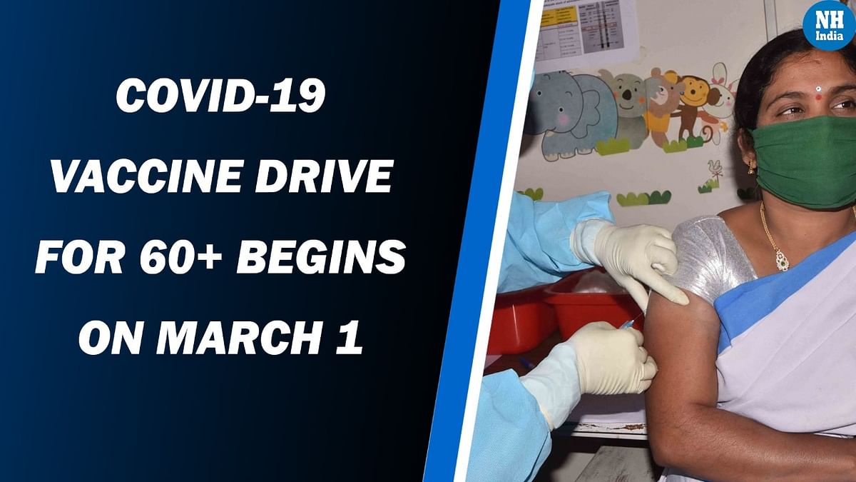 COVID-19 vaccine drive for 60+ begins on March 1