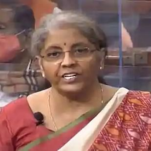 FM Nirmala Sitharaman presenting Budget 2021 in Parliament