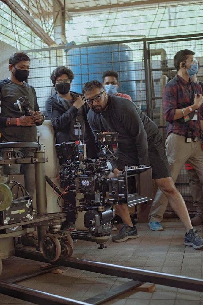 In pictures: Taapsee Pannu and Anurag Kashyap start shooting 'Dobaaraa'