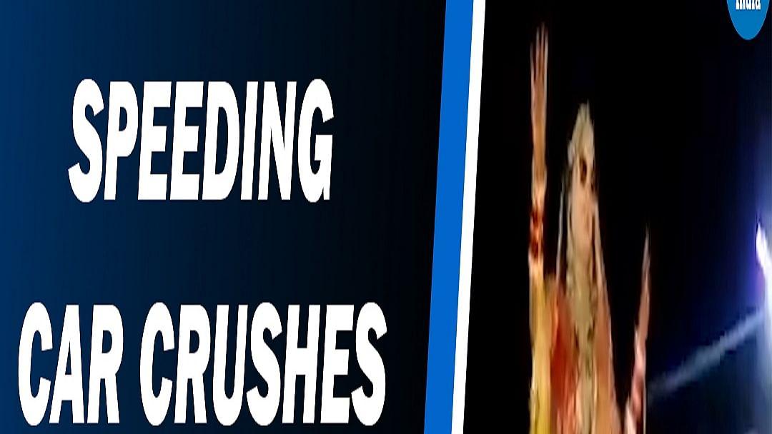 Watch: Dancing bride narrowly escapes death