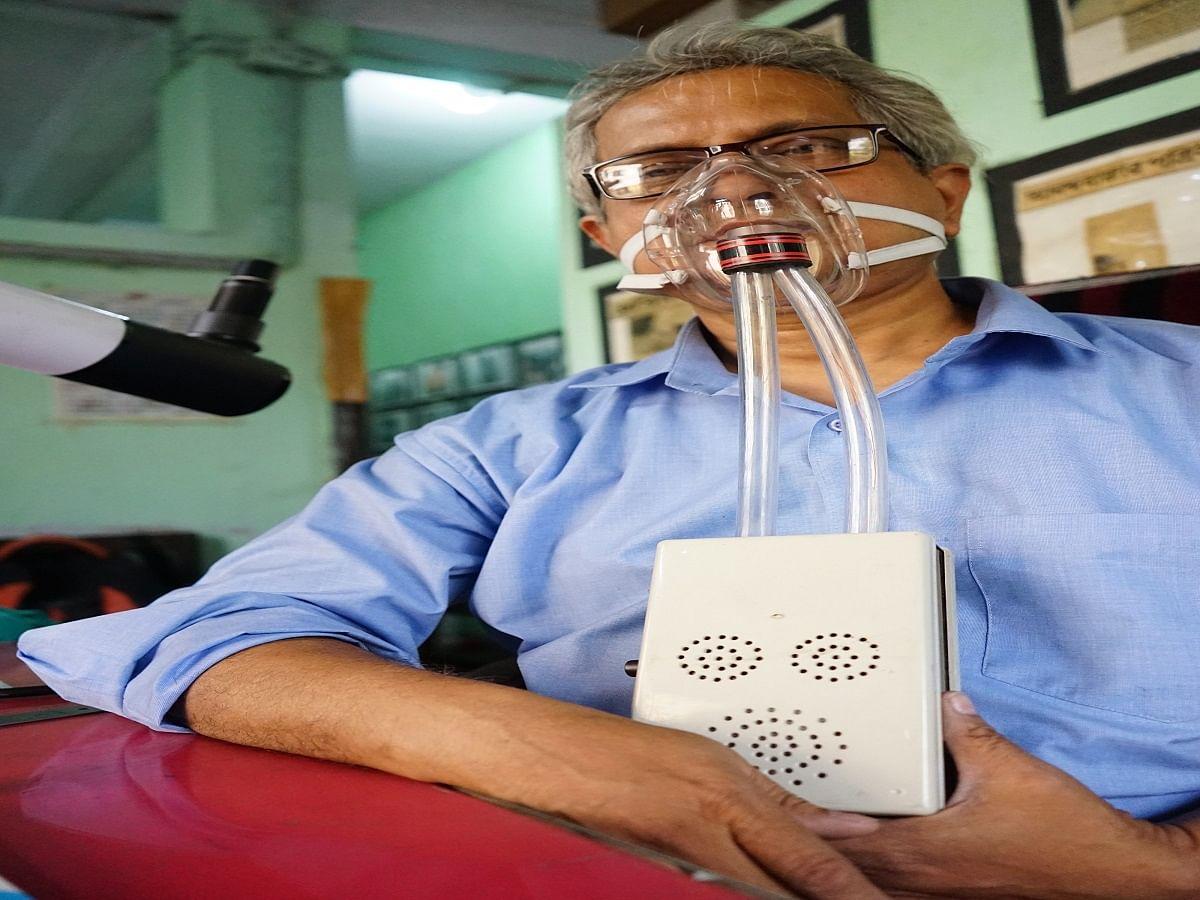 Kolkata based innovator's all-purpose mask claims to make life easier