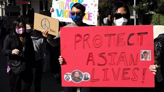 Nearly 150% surge in anti-Asian hate crimes across US