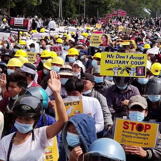 Herald View: India cannot afford to turn a blind eye to the military crackdown in Myanmar