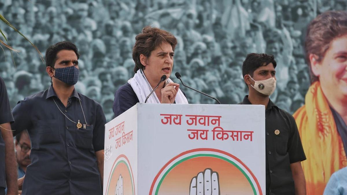 'I will always stand by you': Priyanka Gandhi tells UP farmers