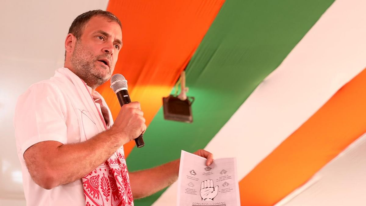 BJP promotes hatred to create divisions among people: Rahul Gandhi in Assam