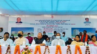 CM Nitish Kumar missing from Bihar govt banners