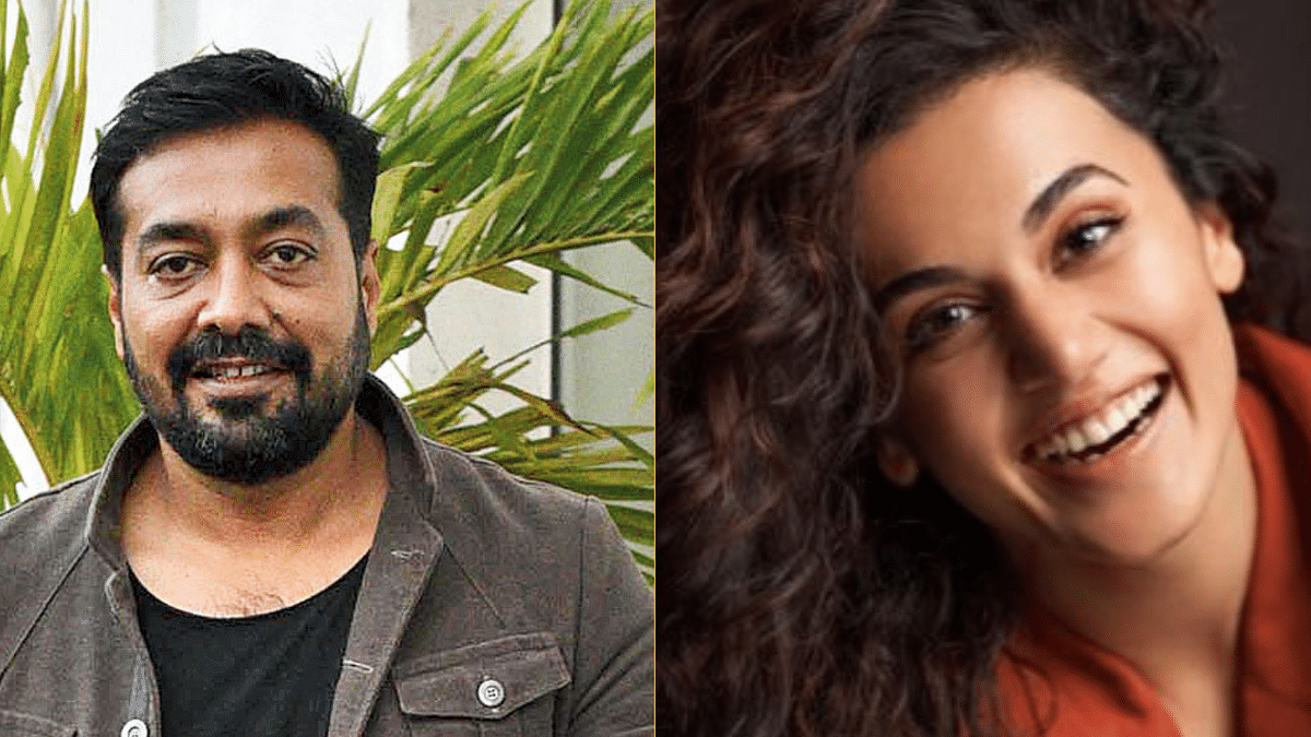 Bollywood mute on IT raids on filmmaker Anurag Kashyap, actor Taapsee Pannu