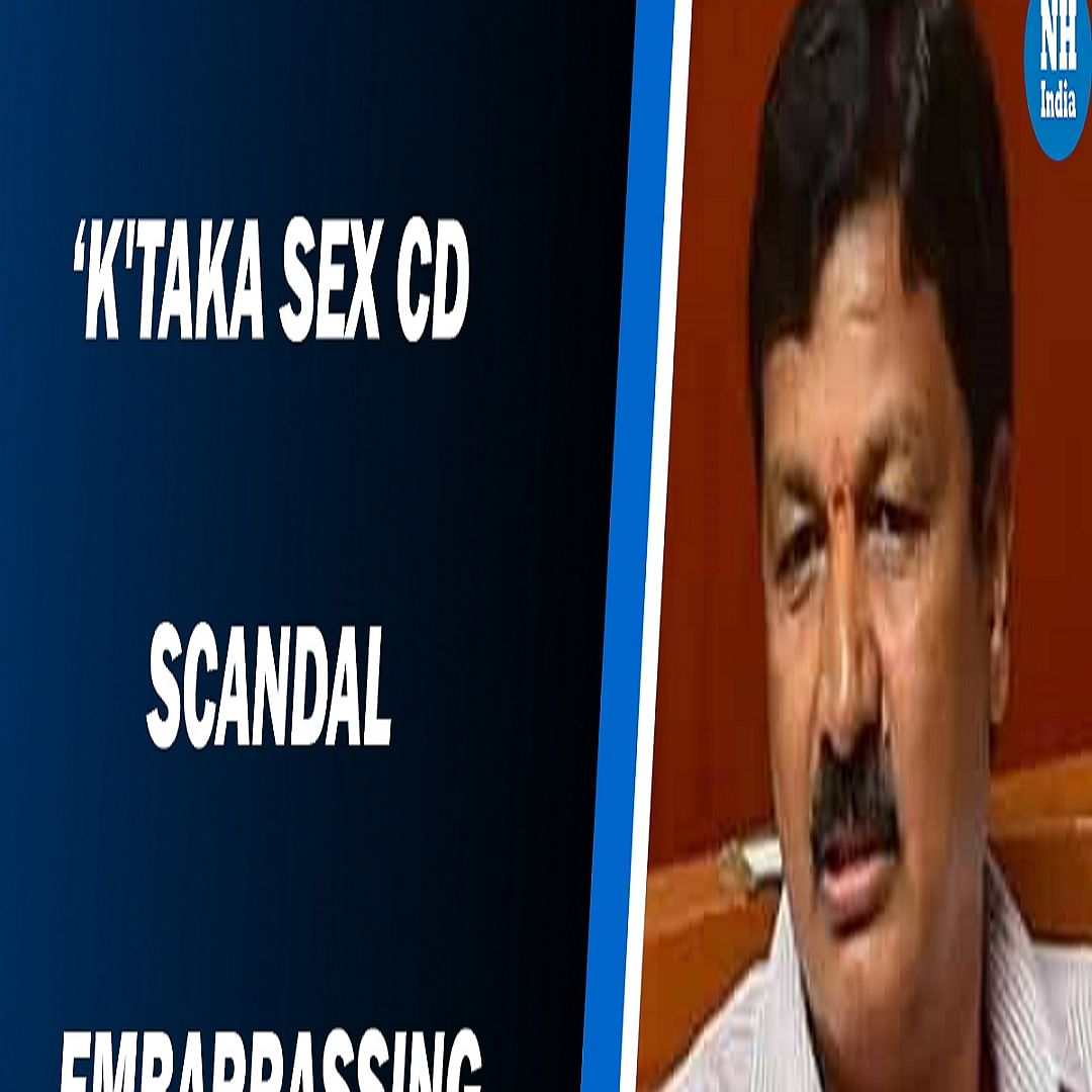 Karnataka: BJP minister caught in sex scandal