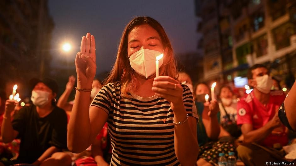 Myanmar junta chokes information flow as protests intensify