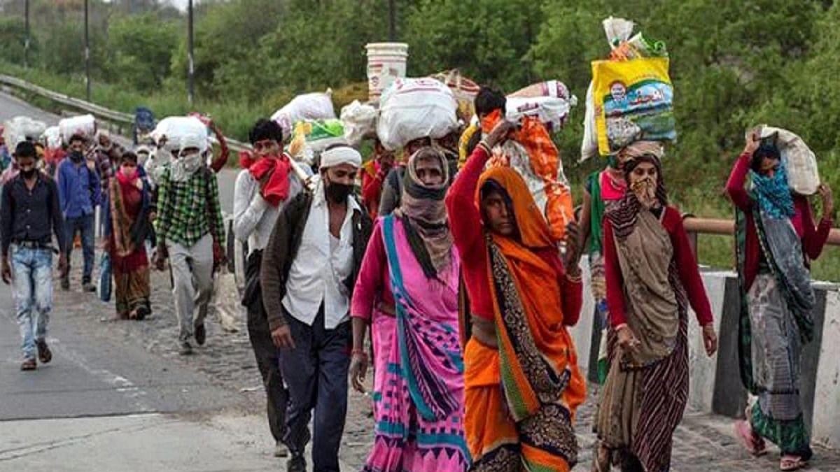 Amid Mumbai lockdown talk, migrant movement seen on MP route