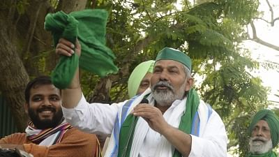Rakesh Tikait (IANS Photo-File)