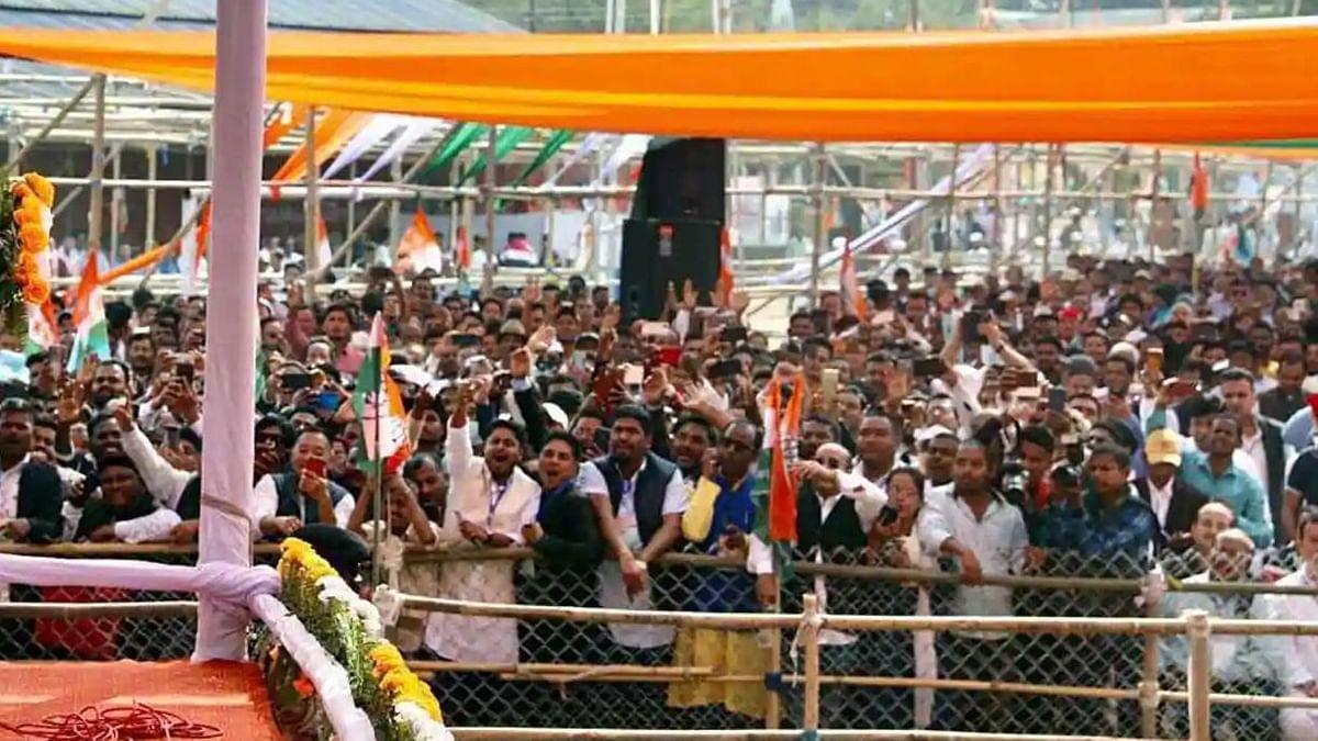 Congress-led Mahajot has an edge in 3rd phase of Assam polls