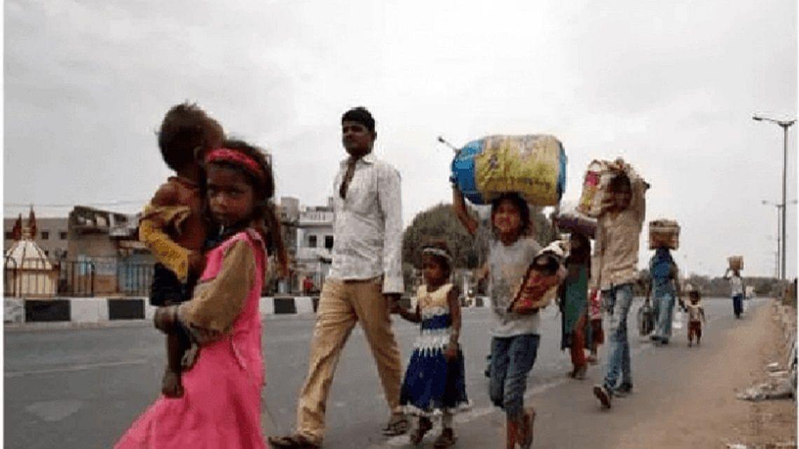 Madhya Pradesh: 2 migrant workers killed, 8 injured as packed bus overturns