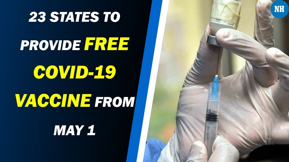 23 states to provide free COVID-19 vaccine from May 1; full list here