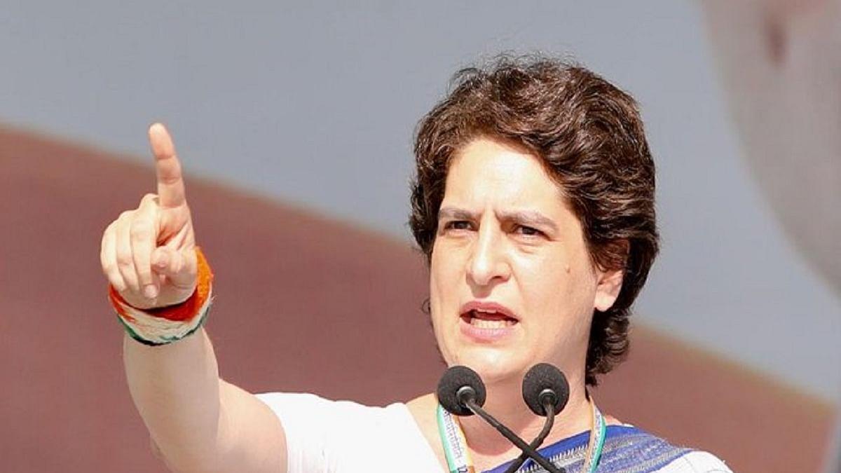 Priyanka Gandhi slams Yogi over farmers' issues