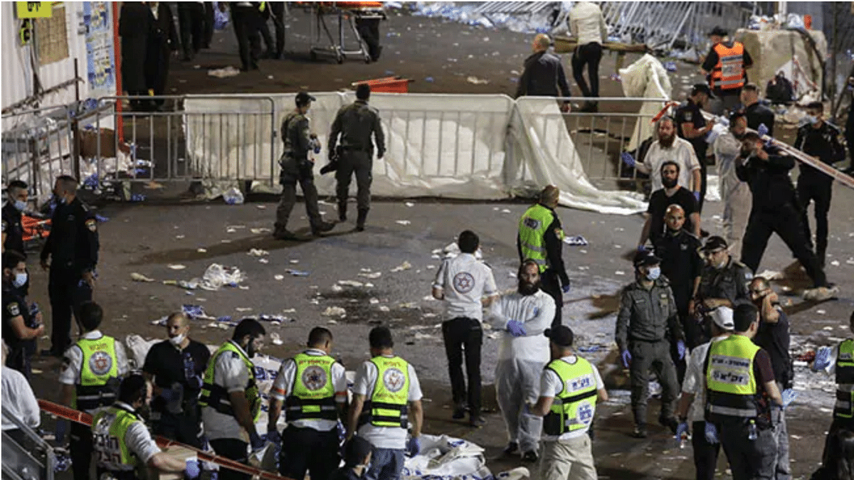 Dozens reported killed in stampede at Israeli festival
