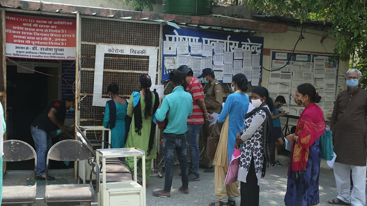 Ground reality belies UP govt's claim of sufficient beds, drugs for COVID patients; crematoriums overwhelmed