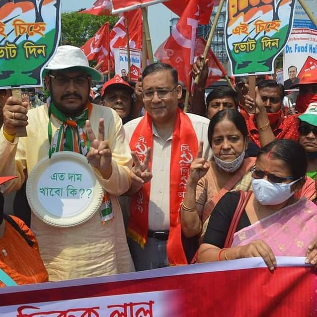 Achievements of Bengal renaissance at stake in this election, says Sanyukta Morcha candidate