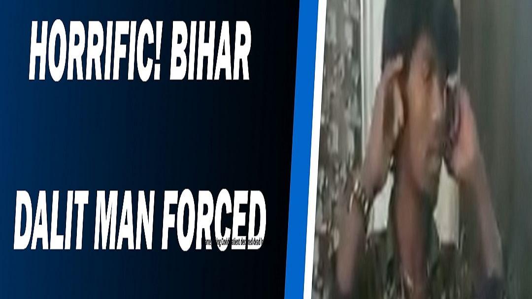 Horrific! Bihar Dalit man forced to lick spit