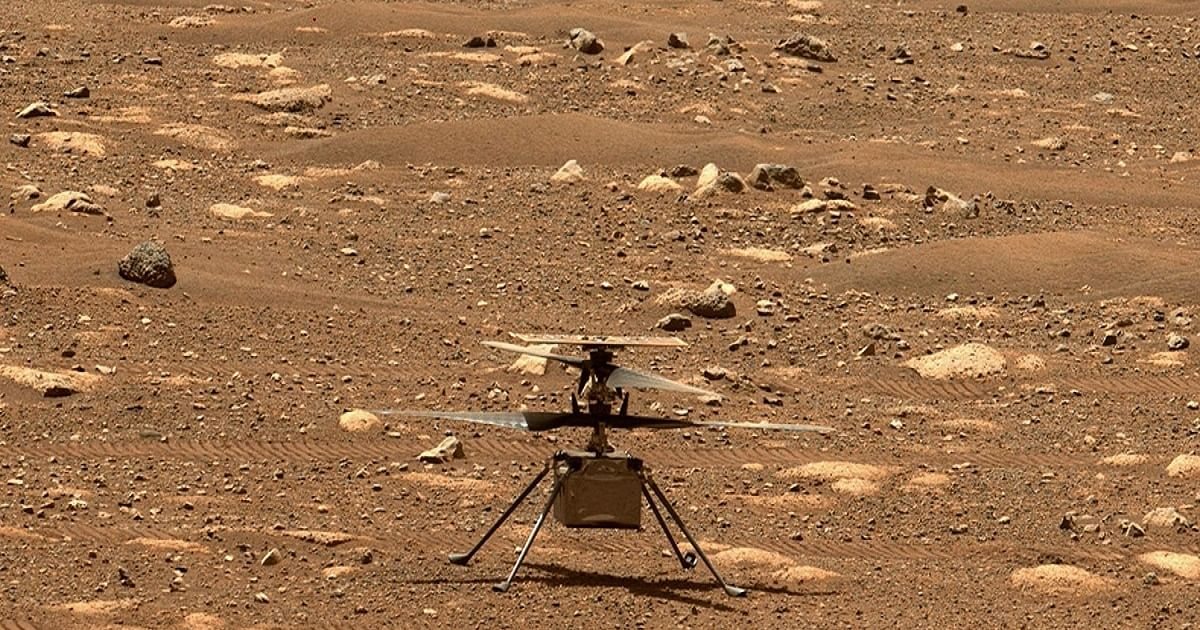 NASA delays first flight of Mars helicopter to April 14 - National Herald