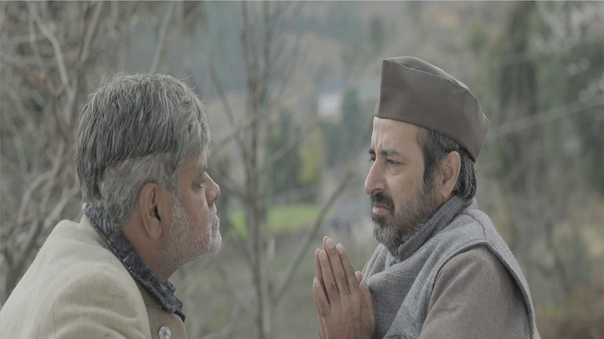 Actor Sanjay Mishra and Rajesh Jais