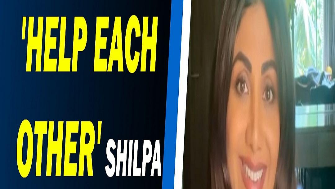'Help Each Other' Shilpa Shetty breaks down in video message
