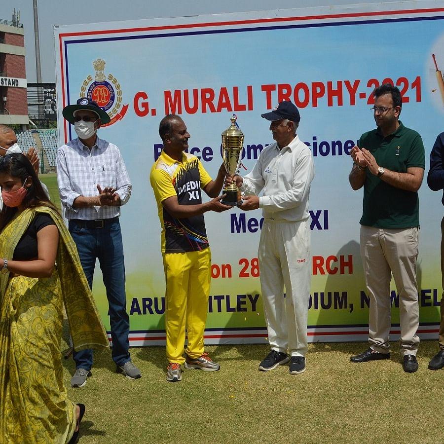 G Murali trophy: Delhi Police thrash Press to retain title